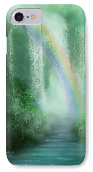 Healing Grotto Phone Case by Carol Cavalaris