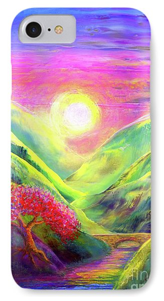 Healing Light IPhone Case by Jane Small