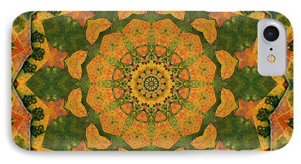 IPhone Case featuring the photograph Healing Mandala 9 by Bell And Todd