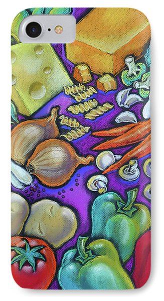 Health Food For You IPhone Case by Leon Zernitsky
