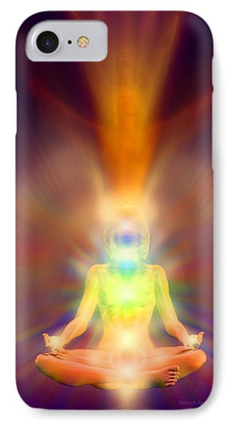 Healthy Aura Phone Case by Robby Donaghey