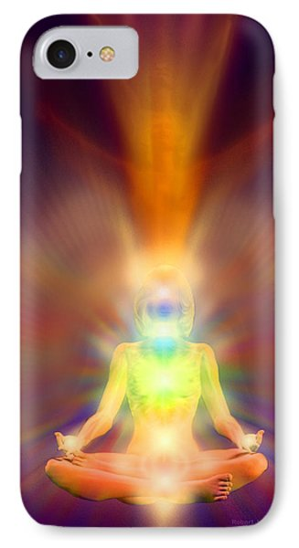 IPhone Case featuring the painting Healthy Aura by Robby Donaghey