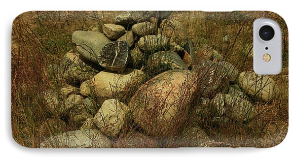 Heap Of Rocks IPhone 7 Case by Nareeta Martin