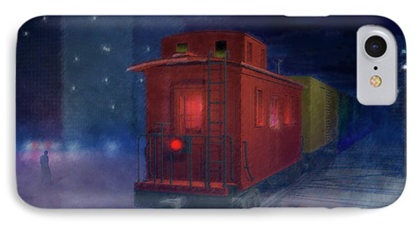 Hear That Lonesome Whistle Phone Case by Carol and Mike Werner