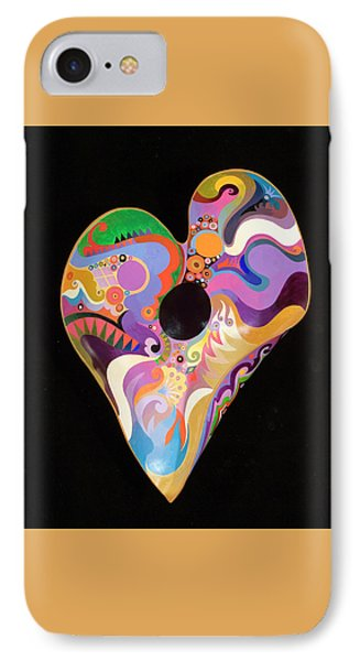 IPhone Case featuring the painting Heart Bowl by Bob Coonts