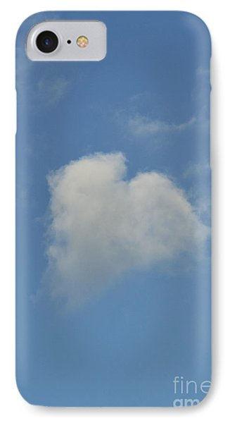 Heart In The Sky IPhone Case by Tim Gainey