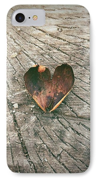 Heart In The Woods IPhone Case