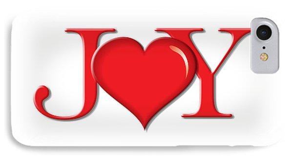 Heart Joy IPhone Case by Greg Slocum