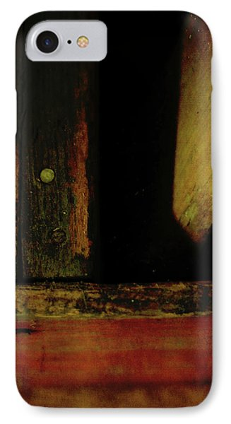 Heart Of Darkness And Light Phone Case by Rebecca Sherman