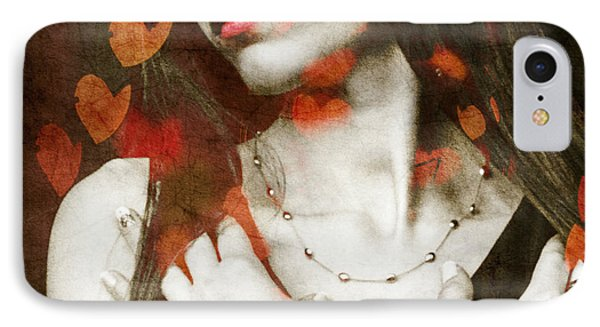 Heart Of Gold IPhone Case by Paul Lovering