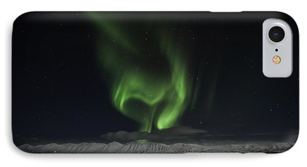 Heart Of Northern Lights IPhone Case by Frodi Brinks