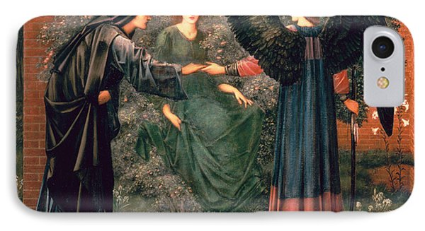 Heart Of The Rose IPhone Case by Sir Edward Burne-Jones