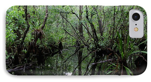 Heart Of The Swamp IPhone Case by Barbara Bowen