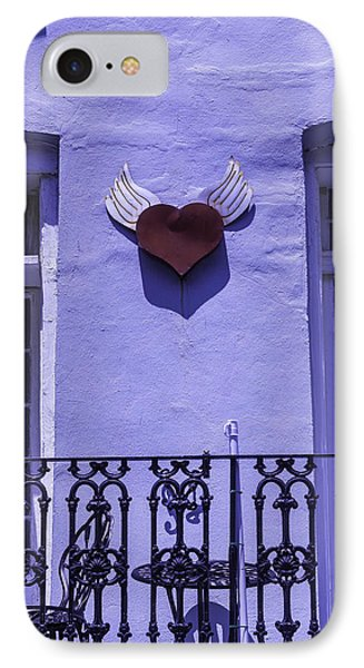 Heart On Wall IPhone Case