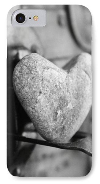Our Love Is Like A Rock Solid IPhone Case by Toni Hopper