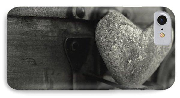 Heart Rock Phone Case by Toni Hopper