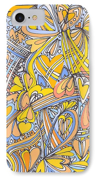 Heart Strings Phone Case by Linda Kay Thomas