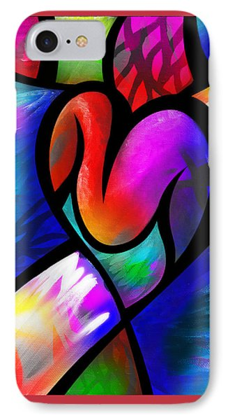IPhone Case featuring the digital art Heart Vectors by AC Williams