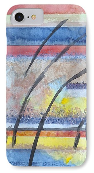 IPhone Case featuring the painting Heartbeat by Jacqueline Athmann