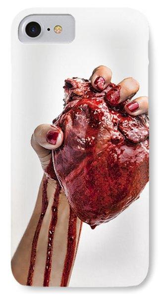 Heartbreaker IPhone Case by John Crothers