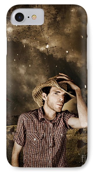 Heartland Of Outback Country Australia Phone Case by Jorgo Photography - Wall Art Gallery