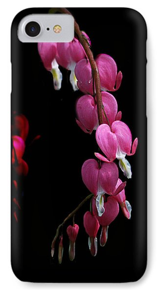 IPhone Case featuring the photograph Hearts In The Dark by Susan Capuano