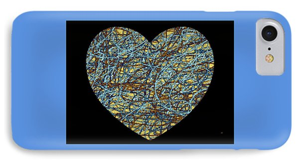 Heartstrings IPhone Case by Will Borden