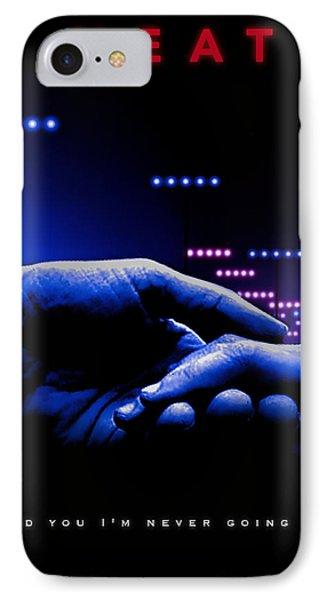 Heat Movie Poster IPhone Case by David Djanbaz