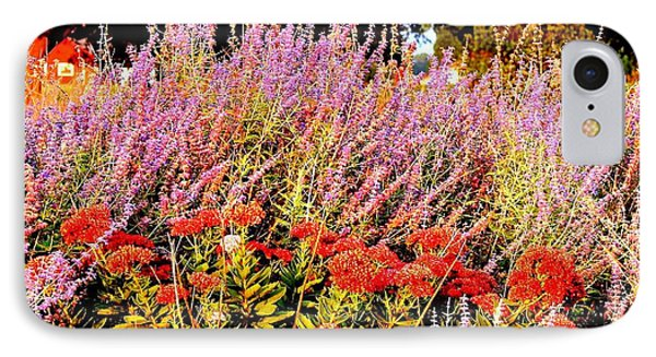 IPhone Case featuring the photograph Heather And Sedum by Patricia L Davidson