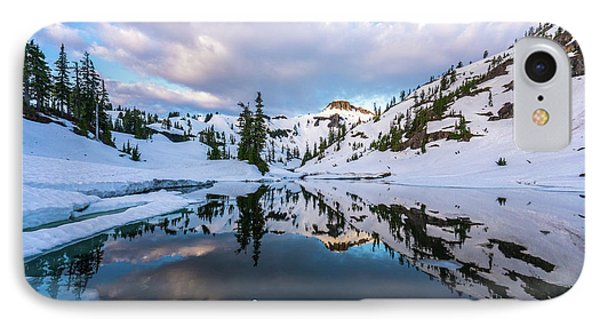 Heather Meadows Reflection Cloudscape IPhone Case