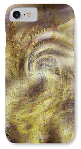 Heaven And Earth IPhone Case by Linda Sannuti