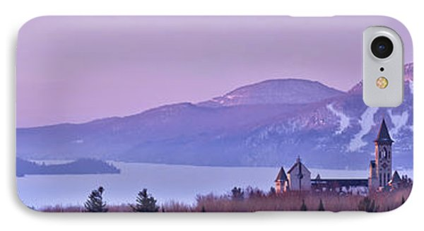 IPhone Case featuring the photograph Heavenly Alpenglow by Sebastien Coursol