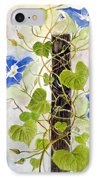 Heavenly Blue Twine IPhone Case