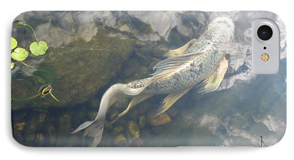 IPhone Case featuring the photograph Heavenly Fish by Laurianna Taylor
