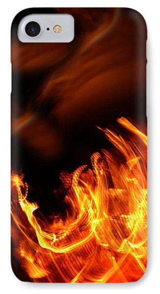 Heavenly Flame Phone Case by Donna Blackhall