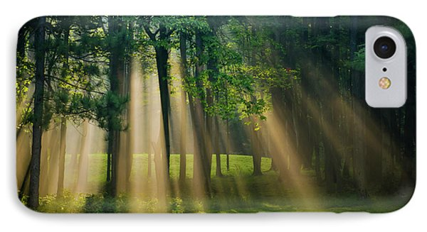 IPhone Case featuring the photograph Heavenly Light Sunrise by Christina Rollo