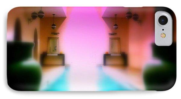 Heavenly Marrakech Spa IPhone Case