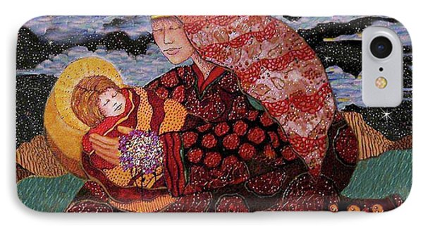 Heavenly Mother And Child Phone Case by Dede Shamel Davalos