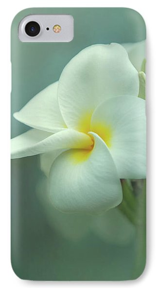 IPhone Case featuring the photograph Heavenly Plumeria by Angie Vogel