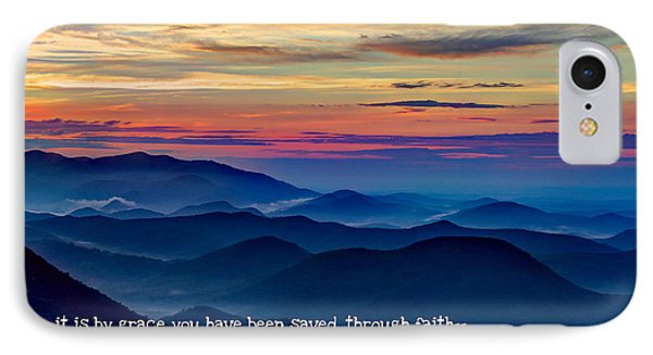 Heavenly View By Faith Pretty Place Chapel IPhone Case by Reid Callaway