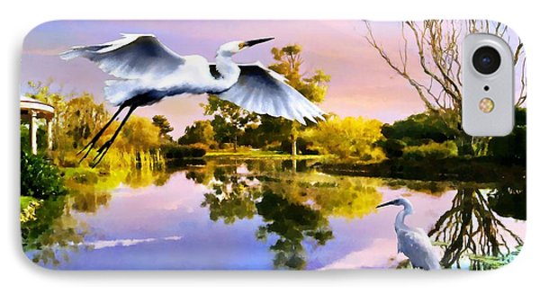 Heavens Lake IPhone Case by Jann Paxton