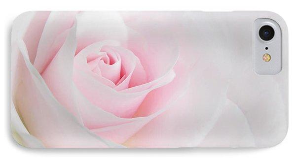 Heaven's Light Pink Rose Flower IPhone Case by Jennie Marie Schell