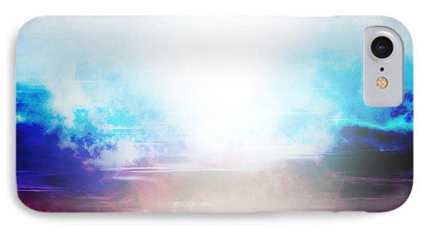 Heavens Light IPhone Case by Robert Hawk