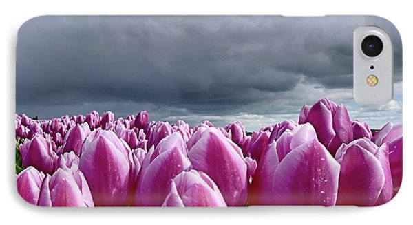 Heavy Clouds IPhone Case by Mihaela Pater