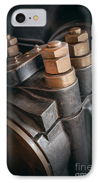 Heavy Industry Detail IPhone Case by Carlos Caetano