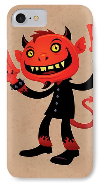 Heavy Metal Devil IPhone Case