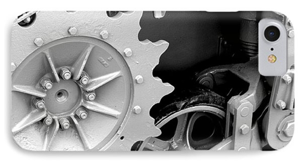 Heavy Metal In Gray Phone Case by Valerie Fuqua