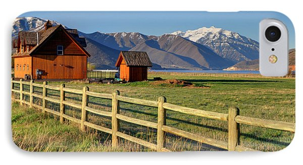 Heber Valley Ranch House - Wasatch Mountains IPhone Case