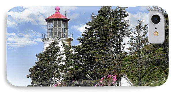 Heceta Head Lighthouse - Oregon's Iconic Pacific Coast Light Phone Case by Christine Till
