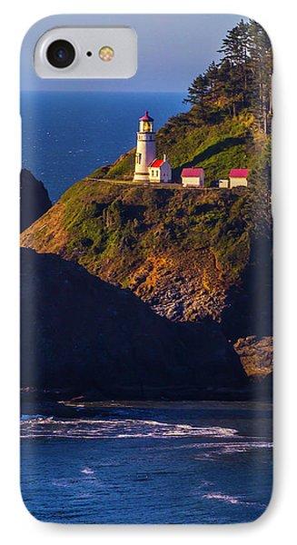 Heceta Head Oregon Lighthouse IPhone Case by Garry Gay